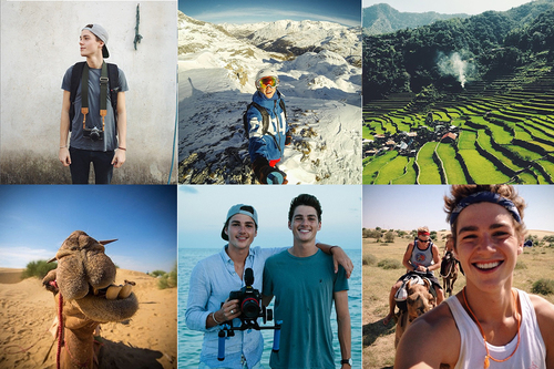 Images by Instagrammer @jackharries