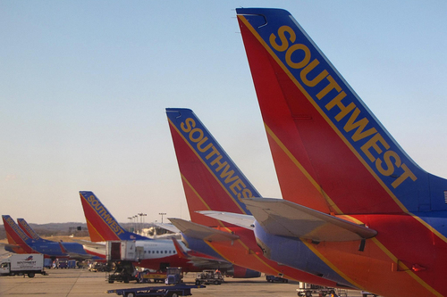 A few things to know/ Southwest planes at an airport