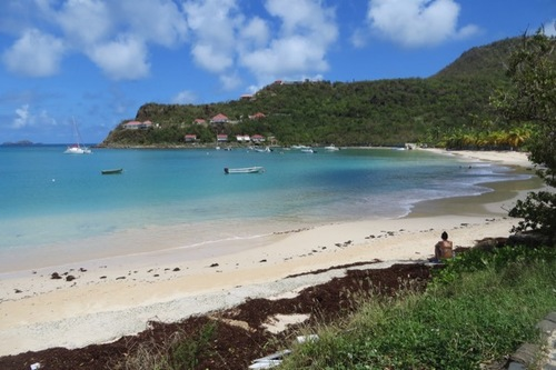 St Jean Beach in St. Barts.