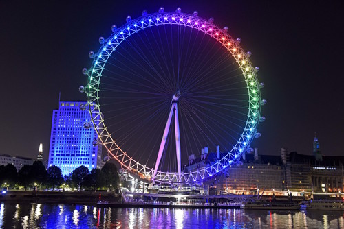 the london eye weird and wonderful pictures through the years