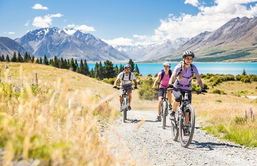 Alps 2 Ocean Cycle Trail, South Island, New Zealand