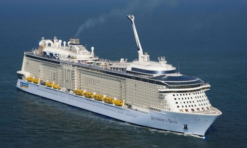 The Possibility That Those Extra Tall Cruise Ships May Be Top - How heavy is a cruise ship