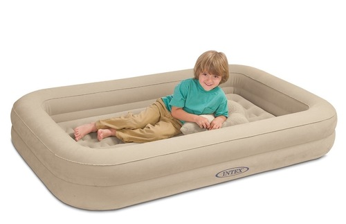 Kids Travel Inflatable Bed Set air mattress, $70