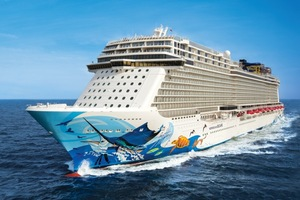 Norwegian Cruise Line's newest ship the Escape
