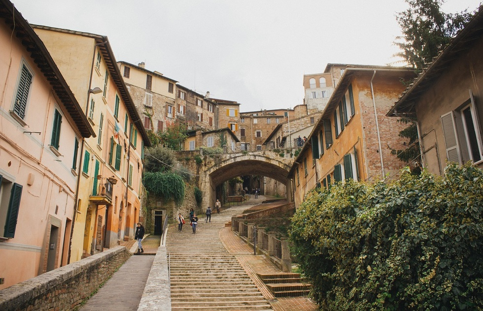 Street in Perugia, Italy