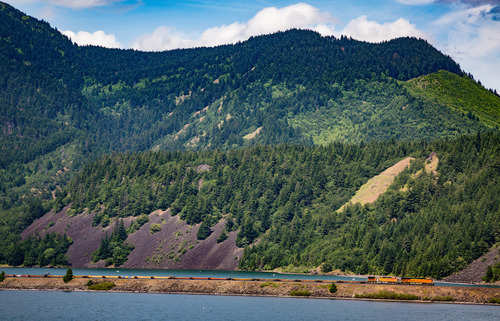 "The Columbia River Gorge is <a href=""../../../destinations/portland-or/"">Portland</a>'s playground, and there's a daily Amtrak train which takes you there, every afternoon. The short trip from <a href=""../../../destinations/portland-or/"">Portland</a> to Bingen, WA takes an hour and a half, and puts you just a short cab ride away from <a href=""../../../destinations/hood-river"">Hood River</a>, full of charming B&Bs and walking paths. You can take the train back the next morning or wait for the afternoon's Greyhound bus, which costs about the same as the train. <a href=""../../../images/destinations/maps/jpg-2006/2761_thecolumbiagorgeandhoodriverattractions.jpg"">Our attractions map</a> gives you some great ideas of what to do in Hood River."