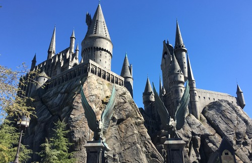 The New Wizarding World Of Harry Potter In Hollywood In