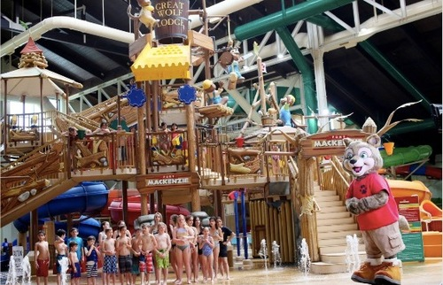 Great Wolfs Huge New Indoor Water Park Opens Near Disneyland in