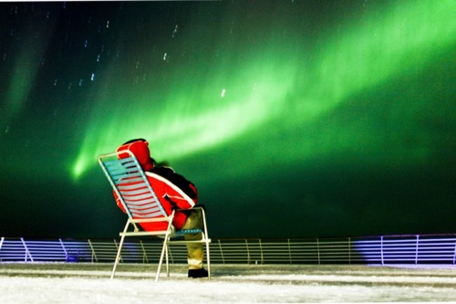 Northern Lights From Hurtigruten
