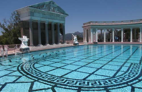 The Pool at Hearst Castle in San Simeon, California