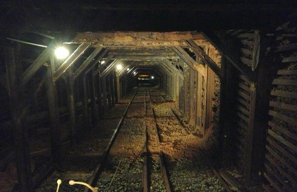 The mine at Empire Mine State Historic Park