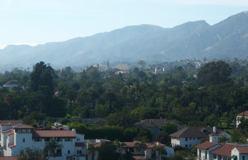 Santa Barbara is a very pretty city.