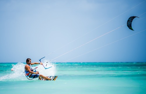 Windsurfing in Aruba