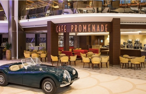 Cafe Promenade, Harmony of the Seas