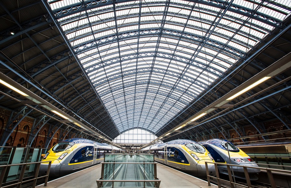 What The Upgraded Eurostar Channel Tunnel Train Is Like