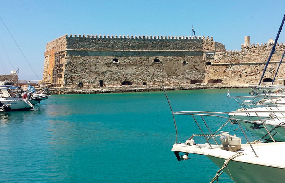 Heraklion Iraklion fortress