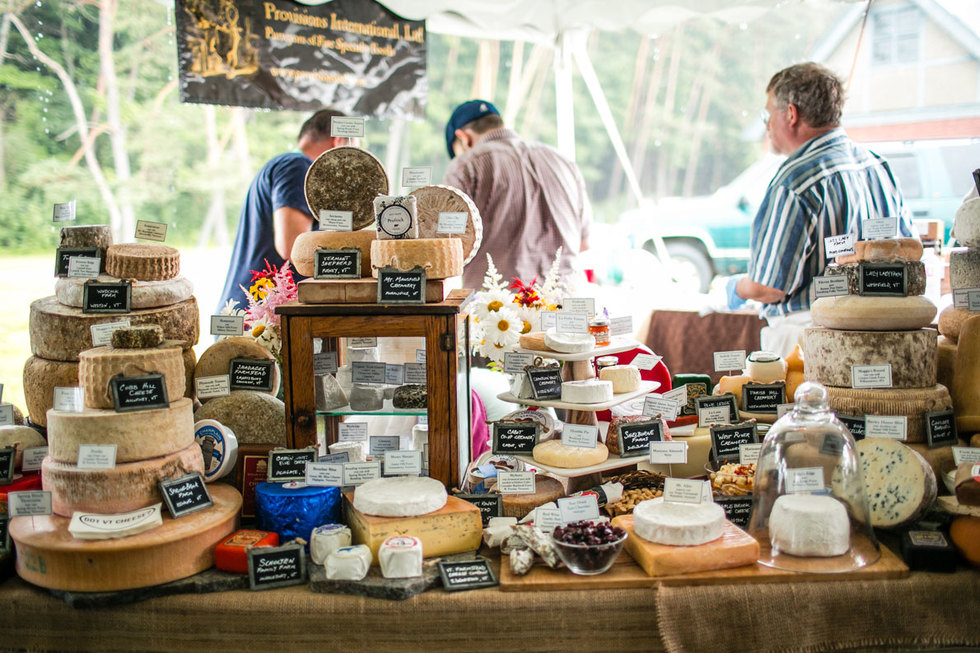 Vermont Cheesemakers Festival in Shelburne, VT