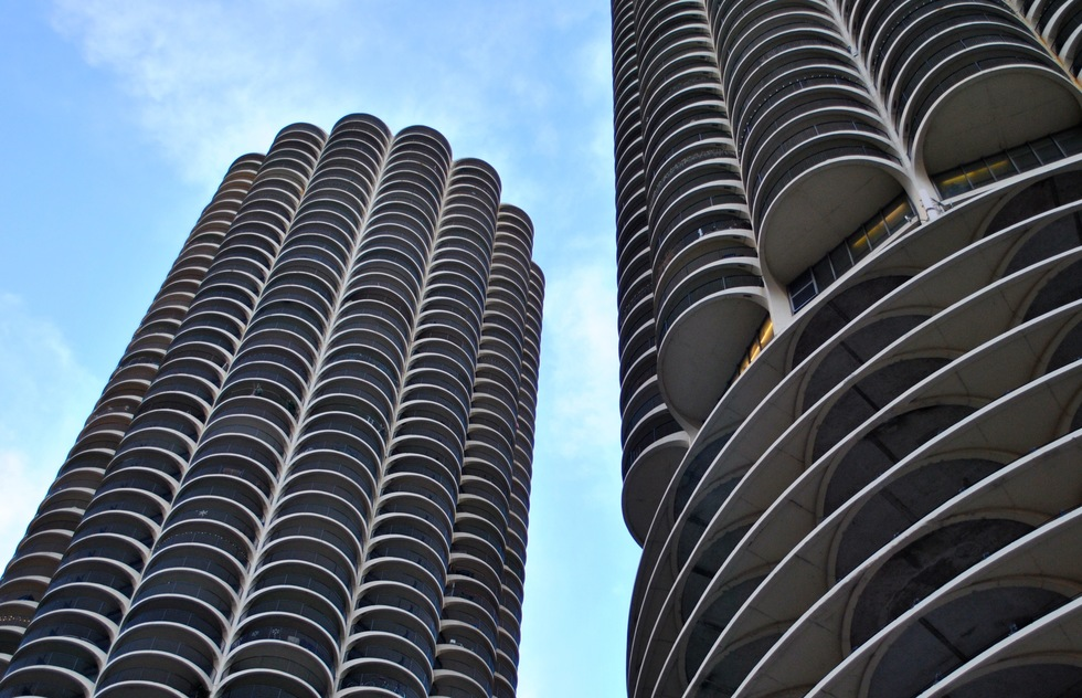 Marina City in Chicago, IL