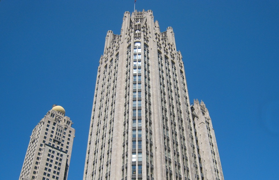 Tribune Tower in Chicago, IL