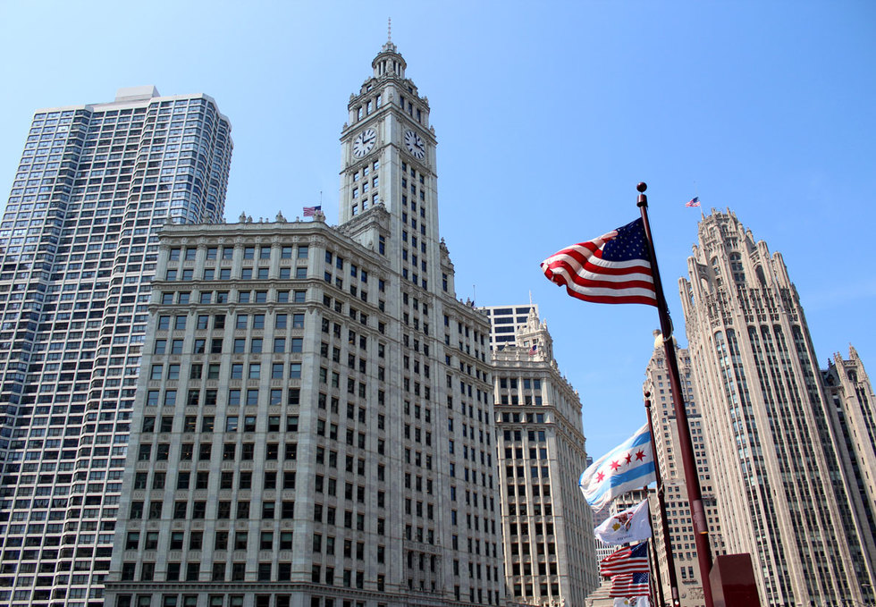 Wrigley Building in Chicago, IL