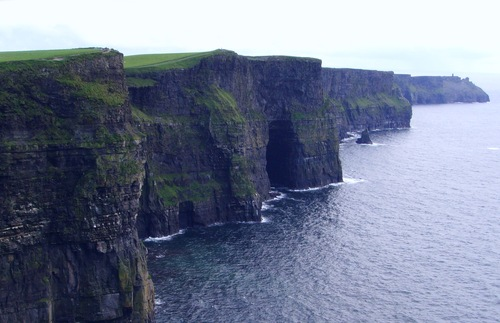 The Cliffs of Moher on Ireland's coast