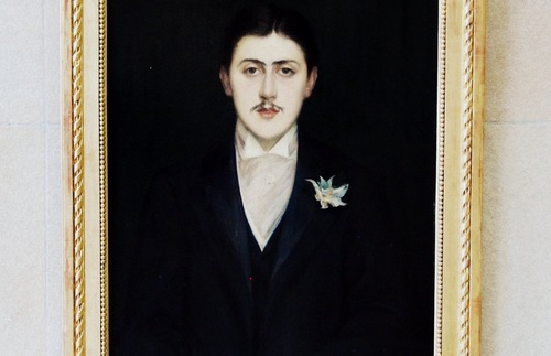 A portrait of writer Marcel Proust (painted by Jacques-Emile Blanche) hangs in the Musée d'Orsay