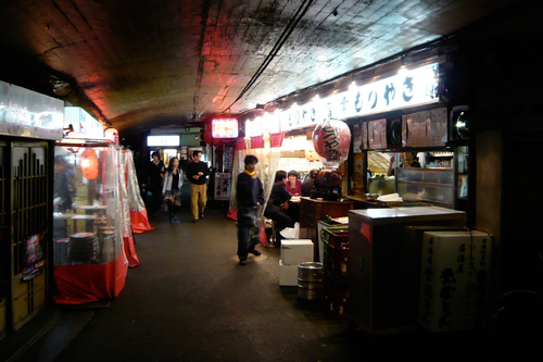 Yakitori Alley at Yurakucho