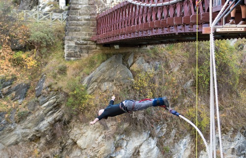 In New Zealand, Bungee Jumping Is Fun Even If You Don't Jump | Frommer's