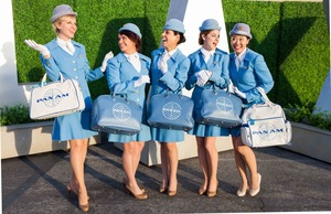 The Pan Am Experience stewardesses