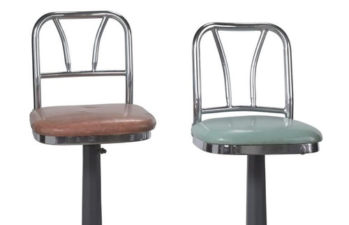 Lunch Counter Stools from Greensboro, NC, Smithsonian National Museum of African American History and Culture (NMAAHC)