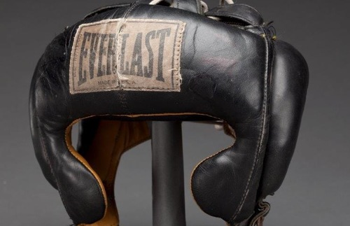 Muhammad Ali Headgear, Smithsonian National Museum of African American History and Culture (NMAAHC)