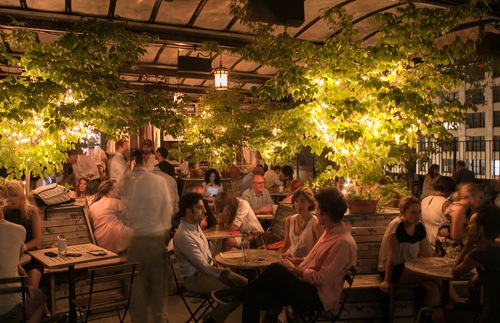 Gallow Green rooftop bar in New York City