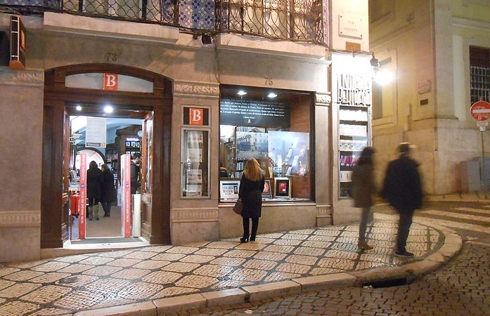 Bertrand bookstore, Lisbon