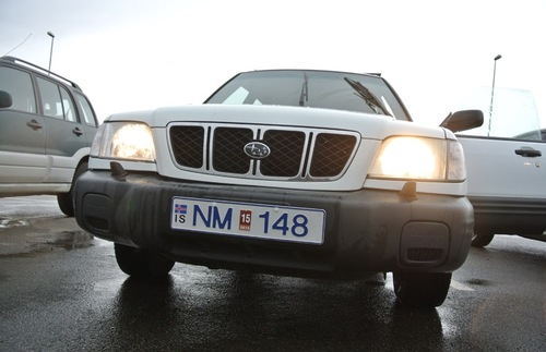 In Iceland, headlights are required as soon as the car engine starts. This makes total sense in the winter months, when daylight is lacking. But this rule extends to all seasons, even in summer when it's still sunny hours past dinnertime.