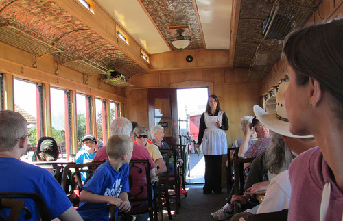 Onboard the Cumbres and Toltec