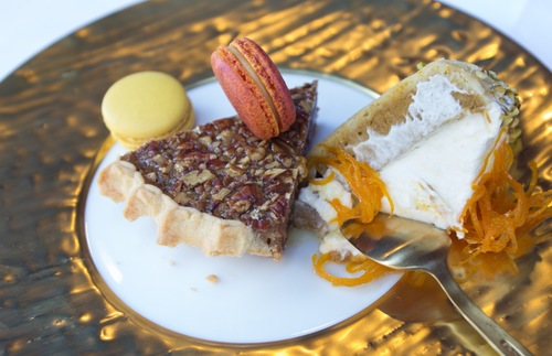 Desserts served aboard Royal Caribbean's Harmony of the Seas