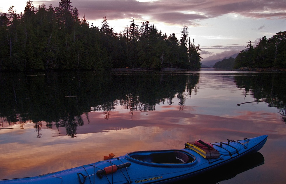 Haida Gwaii (formerly known as the Queen Charlotte Islands) in British Columbia