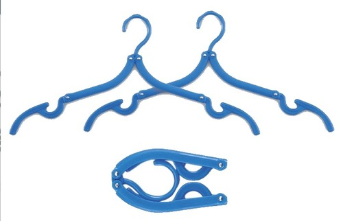 Foldable Travel Hangers, $8