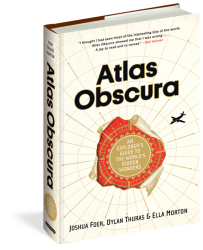 Atlas Obscura, $35 hardback, $17 ebook