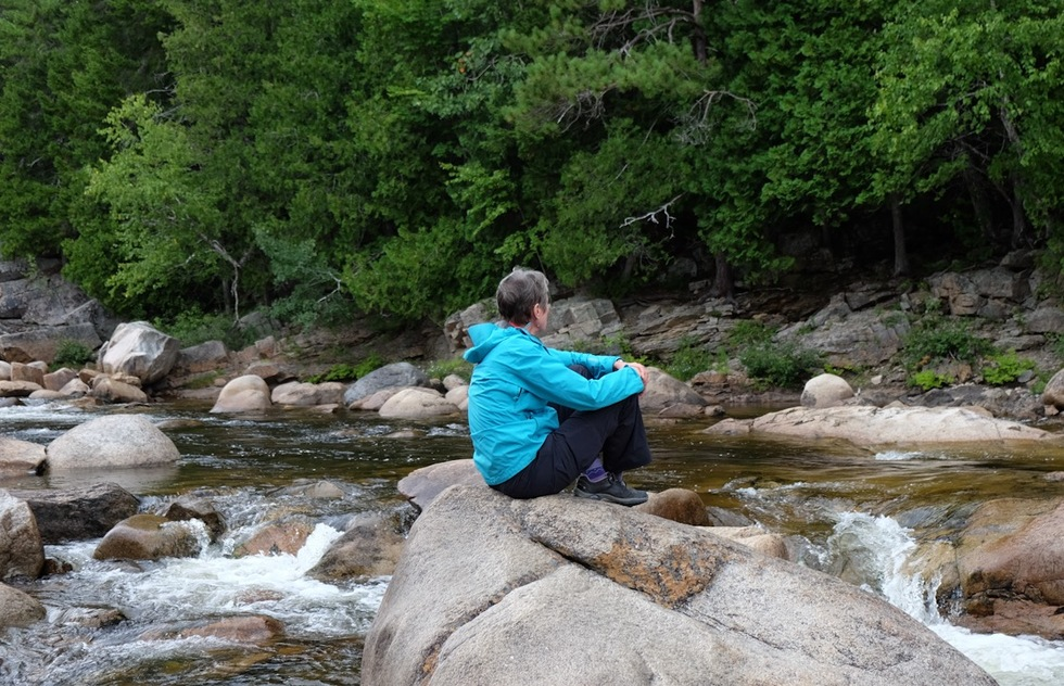 A stream in Maine's Katahdin Woods and Waters National Monument