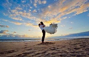 A destination wedding requires travel planning of the highest order.