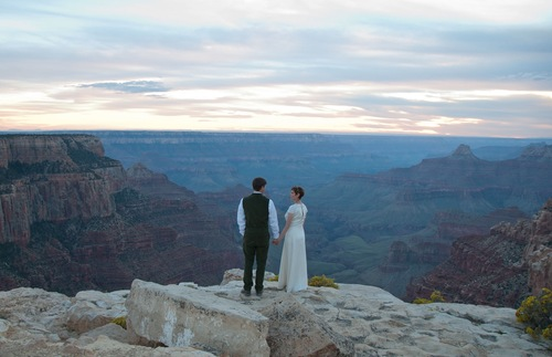 Wedding At The Grand Canyon In Arizona