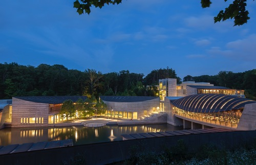 Crystal Bridges Museum Of American Art In Bentonville Arkansas