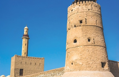 Al Fahidi Fort (1787), home to the Dubai Museum, is the city's oldest building.