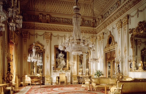 White Drawing Room, Buckingham Palace