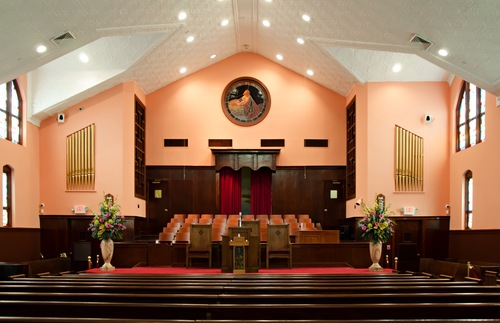 Inside Ebenezer Baptist Church in Atlanta
