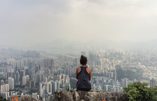 Lion Rock Peak, Hong Kong