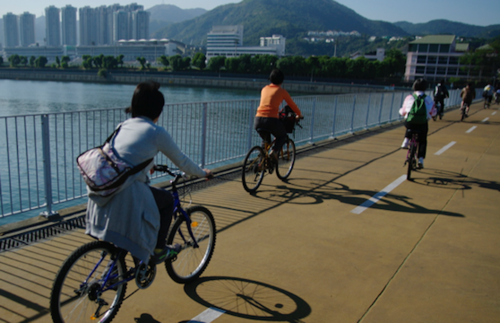 Cycling in Hong Kong