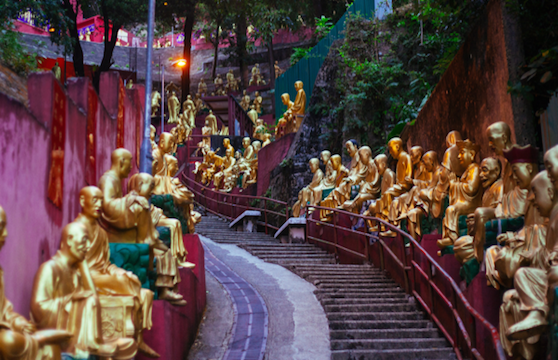 Ten Thousand Buddhas Monastery, Hong Kong