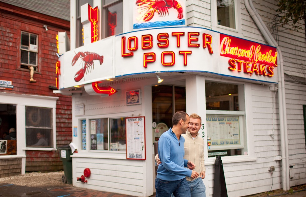 Lobster Pot seafood restaurant in Provincetown